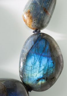 Labradorite & Leather necklace $3415