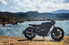Custom Bikes, Classic Motorcycles, Cafe Racer Dreams and Mean Machines. Honda Scrambler, Motorcycle Companies, Bmw, Cafe Racer, Custom Bikes, Austria, Boxer, Vehicles, Classic