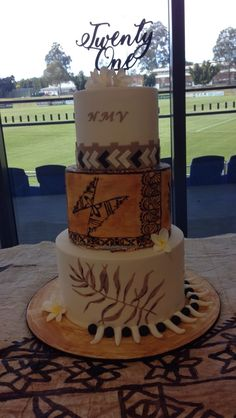 Guys 21st Birthday, 70th Birthday Parties, Themed Birthday Cakes, Unicorn Birthday, Island Cake, 21st Cake, Food Artists, Cake Art, Cake Designs