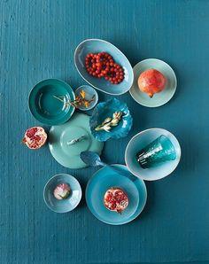 served brushstrokes | fresh hues | color + inspiration