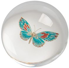 Discover unique, undiscovered products and gifts for your lifestyle, from modern home decor and Zalto wine glasses to travel accessories and jewelry. Glass Paperweights, Paper Weights, Travel Accessories, Crane, Glass Art, Perfume Bottles, Butterfly, Marbles, Tableware