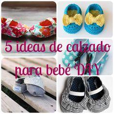 5 originales ideas de calzado para bebé DIY