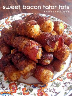 Sweet Bacon Tator Tots Recipe  http://momspark.net/sweet-bacon-tator-tots-recipe/