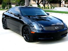 05 infiniti g35 coupe black  Google Search  Cars I wish I could