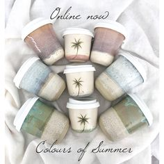 Ceramics Travel mugs. Online now. Ceramic Coffee Cups, Travel Mugs, Napkin Rings, Colours, Shop, Decor, Ceramic Pottery, Decoration, Decorating