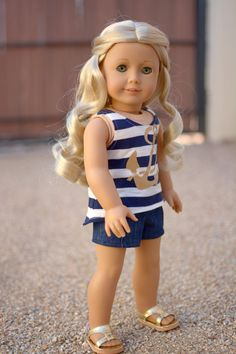 Hey, I found this really awesome Etsy listing at https://www.etsy.com/listing/237603232/doll-clothes-denim-pintuck-shorts-for-an