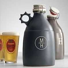 A Anniversary Gift Idea For Your Husband His Very Own Portland Growler To Favorite Beer Perfect If He Likes And It Is Made From