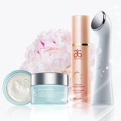 Arbonne Intelligence® Genius Ultra. Gentle waves help push the product onto the outer layers of the skin, getting into the ridges and ultimately maximizing your Arbonne skincare products for faster results. #Arbonne