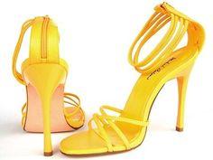Sandals - Hilton - yellow