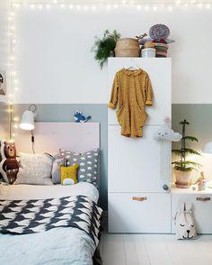 Unique Scandinavian Kids Bedroom Design To Make Your Daughter Happy 28 Kids Bedroom Designs, Kids Room Design, Ideas Armario, Scandinavian Kids Rooms, Scandinavian Interior, Scandinavian Style, Casa Kids, Deco Kids, My New Room