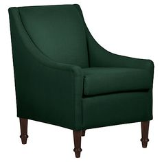 Holmes Accent Chair, Forest Linen