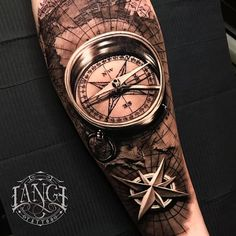 🧭 🗺 ✨ Work done at in London 🇬🇧 🏴 For Appointment: 👇 📲 07521 392944 or E-mail 📩… Forarm Tattoos, Map Tattoos, Cool Forearm Tattoos, Arm Tattoos For Guys, Half Sleeve Tattoos Designs, Arm Sleeve Tattoos, Tattoo Designs Men, Compass And Map Tattoo, Nautical Compass Tattoo