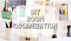 9 DIY Room Organization & Storage Ideas & Decor || How To Clean Your Room   #DIY #RoomOrganisation #Storage #Ideas #Hacks