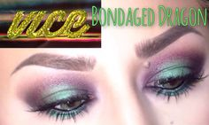 """Urban Decay VICE 3 """"Bondaged Dragon"""" Tutorial Hmmmm, don't know if I can pull this off, but it's pretty!"""