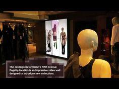 Fashion digital signage-amazing visuals while shopping.