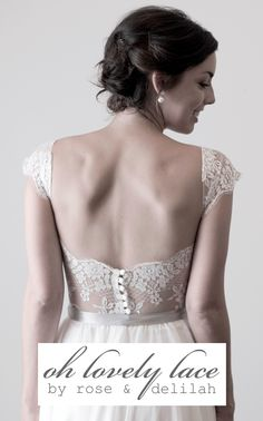 'Oh Lovely Lace' Bridal Collection from Rose & Delilah