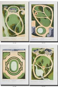 collection of 51 vintage images plans layouts Parks Landscape Architecture Drawing, Architecture Concept Drawings, Landscape Design Plans, Garden Design Plans, English Garden Design, Architecture Presentation Board, Backyard Plan, Vintage Images, Vintage Pictures