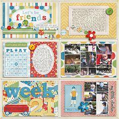 Project Life - Week 21 - Right - Scrapbook.com
