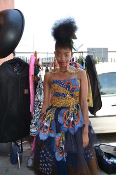 BEHIND THE SCENES AT JOZI MABONENG | Elle South Africa