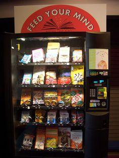 Distributeur de livres à Seattle, Washington.