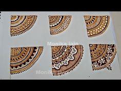 Pretty Henna Designs, Full Hand Mehndi Designs, Mehndi Designs 2018, Mehndi Designs For Girls, Henna Art Designs, Mehndi Designs For Beginners, Mehndi Designs For Hands, Tattoo Designs, Round Mehndi Design