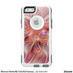 Abstract Butterfly Colorful Fantasy Fractal Art OtterBox iPhone 6/6s Case
