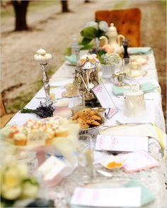 Alice In Wonderland Bridal Shower Ideas - The Wedding Chicks