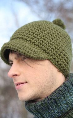 aikuisen virkattu pipo Crochet Beanie, Knitted Hats, Knit Crochet, Crochet Hats, Crochet Blanket Patterns, Beret, Winter Hats, Knitting, Crafts