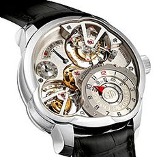 Greubel Forsey Invention Piece 2 Mechanical Skeleton Watch For Rare & Premium Pinterest For Men, Watch Organizer, High End Watches, Men's Watches, Tourbillon Watch, Skeleton Watches, Pulsar, Luxury Watches For Men, Mechanical Watch