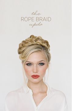 ~ we ❤ this!  moncheribridals.com ~ #weddingupdo #weddingbraids