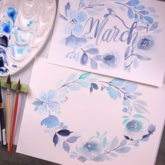 """1,083 Likes, 24 Comments - Crafty Sue (@craftysuelau) on Instagram: """"Can you see the difference with normal watercolor paper against cotton paper? Pls swipe for more…"""""""