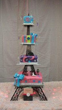 """40"""" Multi-tier Eiffel Tower Cake Stand – Artifacture"""