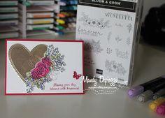 Wood Bridge, Metallic Thread, Ink Pads, Embossing Folder, Ladybug, Pretty In Pink, Flower Arrangements, Card Stock, Stampin Up