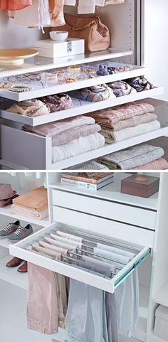 Couple Bedroom With Closet: Advantages, Tips and Models With PhotosEverything in Your Place . Bedroom Closet Design, Wardrobe Design, Closet Designs, Room Decor Bedroom, Diy Room Decor, Organizar Closet, Closet Renovation, Dressing Room Design, Couple Bedroom
