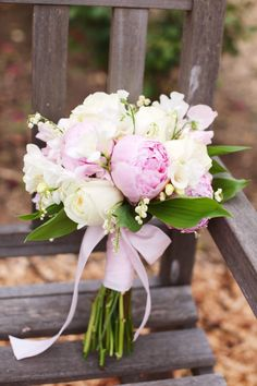 Peonies, lily of the valley, and roses...simply gorgeous!!!