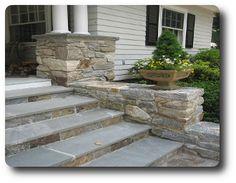 Stone Entry Steps |