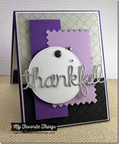 Diamonds and Dots Borders, Pinking Edge Rectangle STAX Die-namics, Stitched Circle STAX Die-namics, Words of Gratitude Die-namics - Jodi Collins #mftstamps