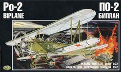 Polikarpov+Po-2+Night+Witches+Models | Korpak KRP-009 1/72 Polikarpov Po-2 night bomber model kit