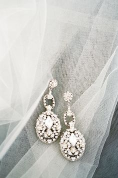 #earrings  Photography: KT Merry - ktmerry.com  Read More: http://www.stylemepretty.com/2014/05/28/romantic-glamour-in-miami/