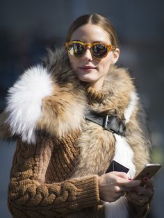 Olivia Palermo's accessories at NYFW.