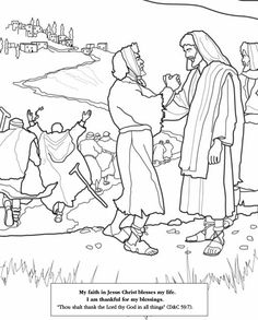 Children visit the Temple. LDS Primary coloring page ...