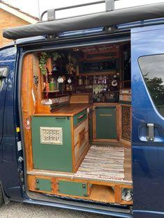 Bus Life, Camper Life, Campers, Ford Transit Conversion, School Bus House, Build A Camper Van, Van Home, Van Design, Van Interior
