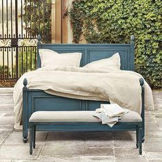 Ballard Designs Louis XVI Upholstered Bench - MASTER