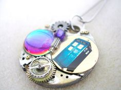 Doctor+Who+Steampunk+Necklace+The+Cardiff+by+TimeMachineJewelry,+$29.00