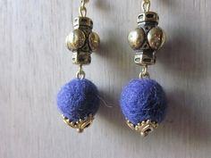 Alpaca Earrings (Sold Per Pair) WEP-B20 - Well Criated