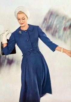Sunny Harnett, Vogue, Février 1952. Fabulous turban !1950s fashion