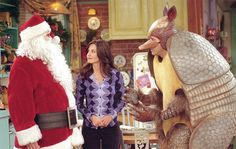 Friends The One with the Holiday Armadillo (Season 7)