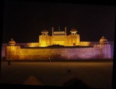 #India ( Red fort in Delhi)