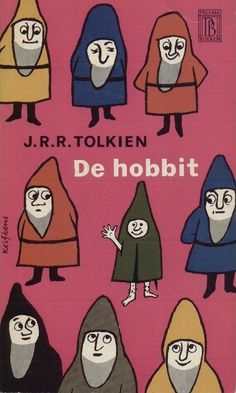 de Hobbit (by P-E Fronning) // This is so weird but kinda cute (is that Bilbo in the middle?! Dawww!)