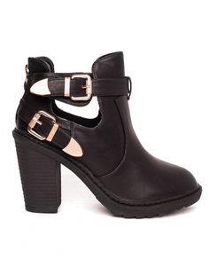 "Botine ""Stellar"" Black - Colectia Iarna 2015. Pret 64.90 lei Booty, Ankle, Casual, Shoes, Black, Fashion, Moda, Swag, Zapatos"